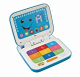 Fisher-Price Laugh and Learn Smart Stages Laptop, Blue/White 9.5 X 2.2 X 13