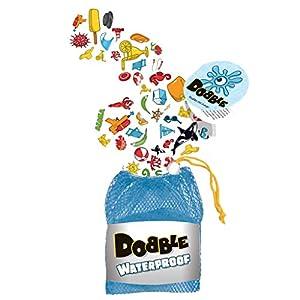 Asmodee – Dobble Waterproof, Juego de cartas impermeable (ADE0ASDO007)