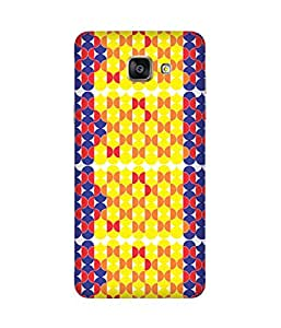 Stripes And Elephant Print-76 Samsung Galaxy A5 2016 Edition Case