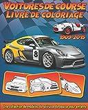 Voitures de Course: Livre de coloriage de collection de modèles de voitures de course pour enfants