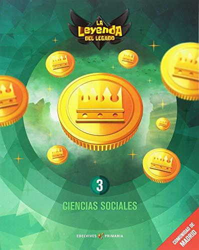 Proyecto: La leyenda del Legado. Ciencias sociales 3 : Comunidad de Madrid por José Javier García Iglesias