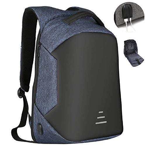 BAIBU Men Backpack Anti Theft 15.6Zoll Laptop Tasche für Männer Mode Oxford Waterproof USB Charging School Travel Bag Rucksack männlich