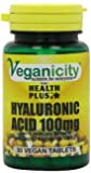 Veganicity Hyaluronic Acid 100mg Joint and Anti-Ageing Supplement - 30 Tablets