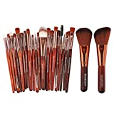 Transer@New Hot Sale Cosmetic Makeup Brush Blusher Professional Eye Shadow Brushes Set(pack of 22) Kit