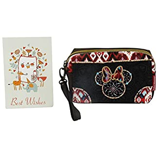 Disney Minnie Boho Travel Caso Make Up Bag Bolsos Neceser Vanity Pochette PB