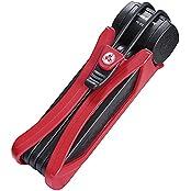 Trelock FS 300 Trigo Faltschloss, Schlüssel rot