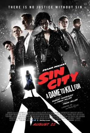SIN CITY : A DAME TO KILL FOR – US Imported Movie Wall Poster Print - 30CM X 43CM Brand New (To Kill Für Dvd City Dame Sin)