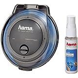 Hama CD-Reinigungs-Set, Schwarz/Transparent