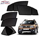 Product Overview: • Brand: Auto Pearl • Material: Nylon Polyester Mesh with Metallic Frame Imbedded with Magnets • Color: Black • Dimensions: Customized as per vehicle • Mount type: Magnetic - Clings to car door frame • Assembly details: Open the car...