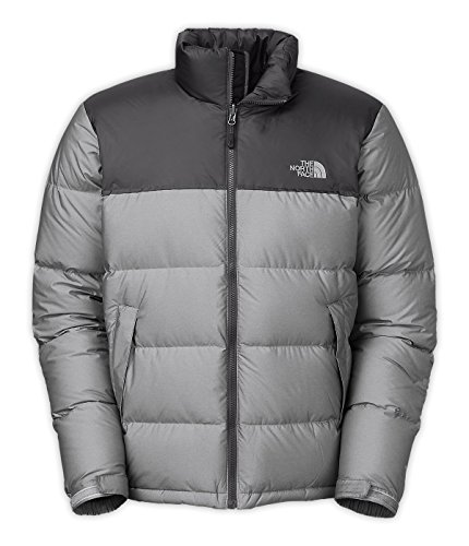 The North Face Nuptse Jacket Mens High Rise Grey Heather/Asphalt Grey XXL