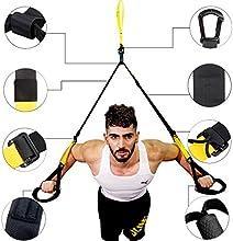 LinkWitz Entrenamiento En Suspensión Profesional, Un Juego De Sistema De Deporte Para Tonificación MuscularEn Hogar,Oficina,Campamento