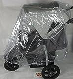 Nuevo protector de lluvia Rain Cover para 3Wheeler carrito de bebé Hauck Mothercare Urban Detour +
