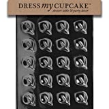 Dress My Cupcake DMCF076SET Chocolate Candy Mold, Calla Lilly, Set of 6