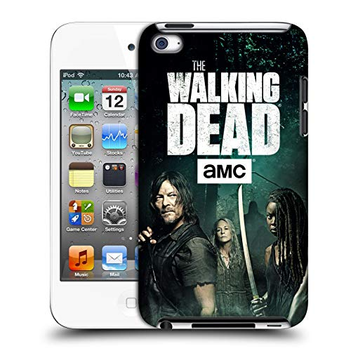 fizielle AMC The Walking Dead Daryl, Carol & Michonne Staffel 9 Zitate Harte Rueckseiten Huelle kompatibel mit Apple iPod Touch 4G 4th Gen ()