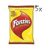 5x Fonzies - Maissnack mit Käse 100g (500gr) chips mais italien