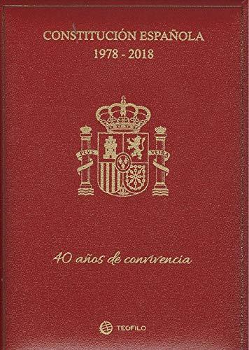 Constitución Española 1978-2018 - 40 años de convivencia - Estuche lujo