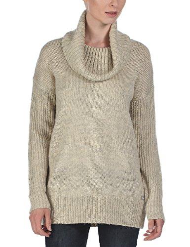 Bench Damen Pullover Strickpullover Snugglehug beige (Sleet Marl) Large