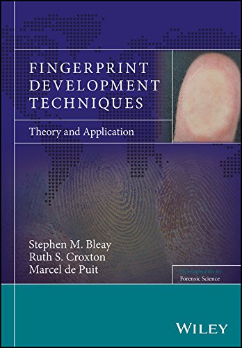 Fingerprint Development Techniques: Theory And Application (developments In Forensic Science) por Stephen M. Bleay
