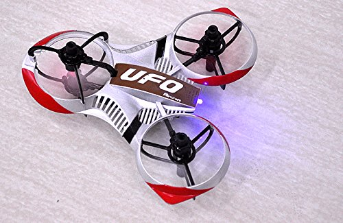 SHOPINNOV Mini Tricopter RC OVNI Invader Gyro 6-axis Frequence 2.4GHz 4 canaux - 3