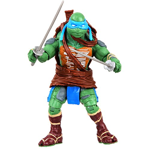 Turtles Movie 2014 Basic Action Figure - Leonardo (12 Ninja Turtles Figuren)