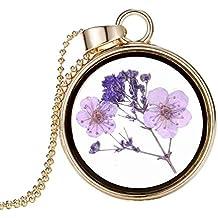 Boda Xinmaoyuan joyas joyería nueva flor Colgante medallón Collar Del Colgante Del Círculo de Oro de aleación , Figura Color Regalo de Boda Regalo de Cumpleaños regalo de vacaciones