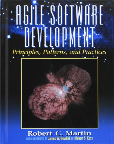 Agile Software Development, Principles, Patterns, and Practices (Alan Apt Series)
