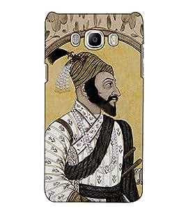 Fuson Designer Back Case Cover for Samsung Galaxy On Nxt (2016) (Shahaji Raje Theme)