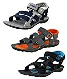 #9: Tempo Men's Combo Pack of 3 Floaters Sandals