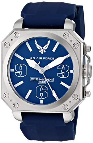 us-air-force-37wa035201a-reloj-para-hombres-correa-de-silicona-color-azul