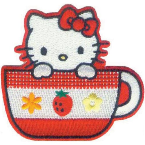 C&D Visionary Tee Tasse–Patch Hello Kitty, Acryl, Mehrfarbig (Tee Patch)