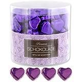 150 lila Schokolade Herzen Melbourne