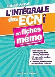 L'intégrale des ECNi en fiches mémo