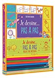 Telecharger Livres Kit Je dessine pas a pas (PDF,EPUB,MOBI) gratuits en Francaise