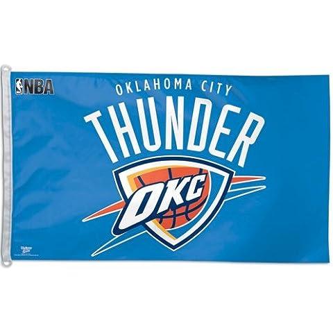 Oklahoma City Thunder Flag 3ft x 5 ft OKC by Nyl-Glo