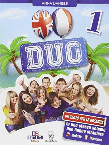 Duo. Inglese + Francese. Con CD Audio. Per la Scuola media: 1