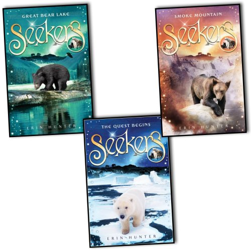 Erin Hunter Seekers 3 Books Collection Pack Set (Smoke Mountain: Three bears¦... (Mountain Collection-pack)
