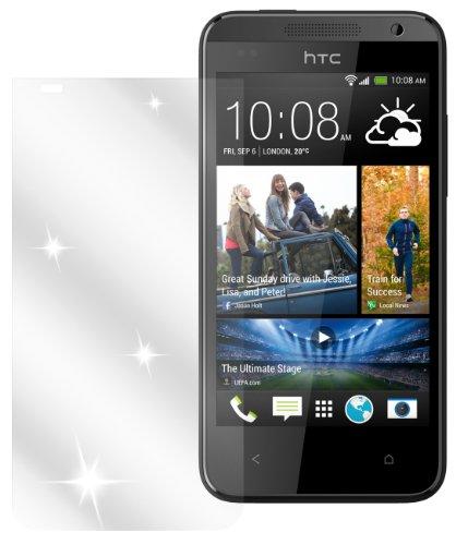 dipos I 2X Schutzfolie klar passend für HTC Desire 310 Folie Bildschirmschutzfolie
