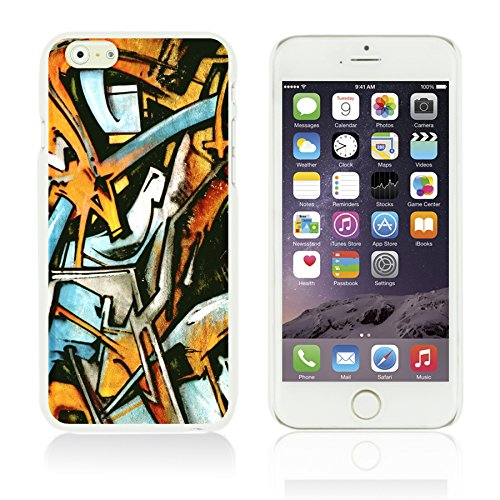 OBiDi - Funny Pattern Hardback Case / Housse pour Apple iPhone 6 / 6S (4.7 inch)Smartphone - A TO Z Graffiti Art