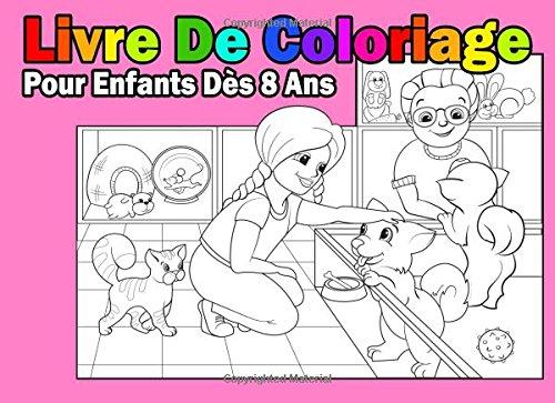 Livre De Coloriage Pour Enfants Dès 8 Ans Pour Les Filles