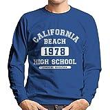 Coto7 California Beach High School Men's Sweatshirt