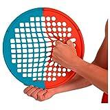 Power Web Combo Handtrainer Fingertrainer 38 cm: Mittel/Extra Stark, Rot/Blau