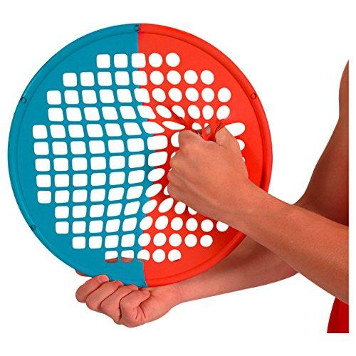 Power Web Combo Handtrainer Fingertrainer 38 cm: Mittel/Extra Stark, Rot/Blau -