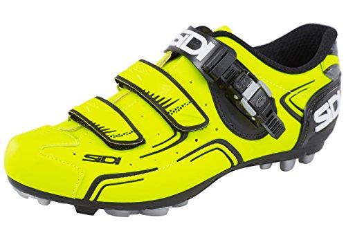 Chaussures De Vélo Sidi Buvel Mtb Jaune Fluo / Noir
