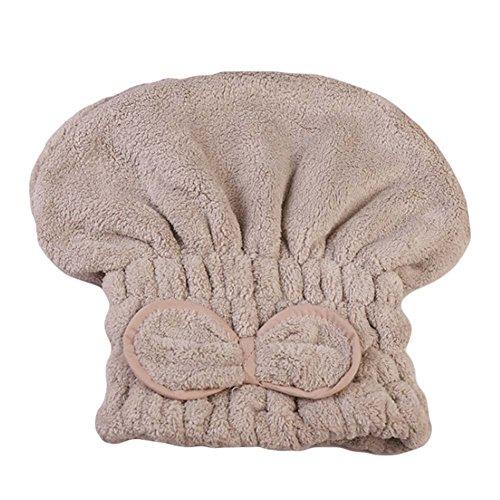 Reizendes trockenes Haar-Hut-Superabsorber-Bad-Hut-lange Haar-Verpackung