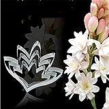 HENGSONG 3-tlg Edelstahl Blumen Keks Ausstecher DIY Fondant Kuchen Plätzchen Ausstechform Plätzchenausstecher Backzubehör Deko