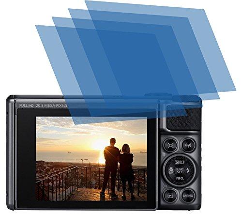 4x ANTIREFLEX matt Schutzfolie für Canon PowerShot SX730 HS Premium Displayschutzfolie Bildschirmschutzfolie Schutzhülle Displayschutz Displayfolie Folie