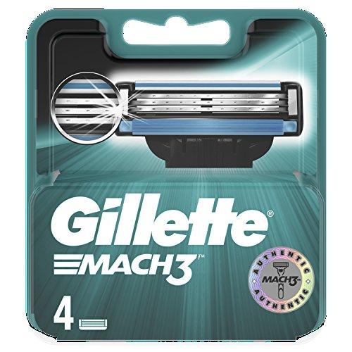 Gillette Mach3 Refill Razor Blades 4 pack