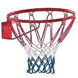 Dein Spielplatz 1069601005 Basketballkorb Durchmesser 45 cm für Spielturm/haus/anlage, Pirate und Princess, rot