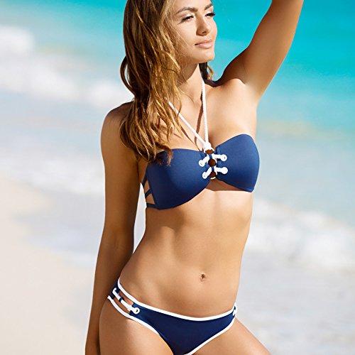 Fashion Dress Shirt Bikini Anzug 1