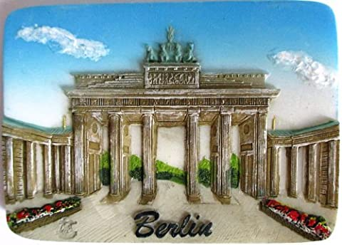 Fridge Magnet Berlin Brandenburg Gate Gift 3d Design Germany